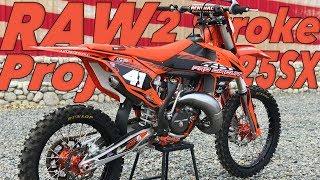 Project Pro Circuit KTM 125SX 2 Stroke RAW - Dirt Bike Magazine
