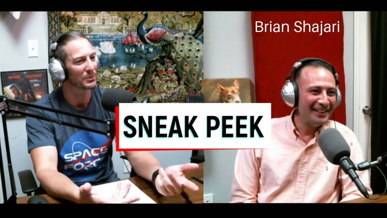 """Download SNEAK PEEK - Brian Shajari - """"Civil War to Cybersecurity"""" Episode 8 - Tyler Knows Everything Podcast"""