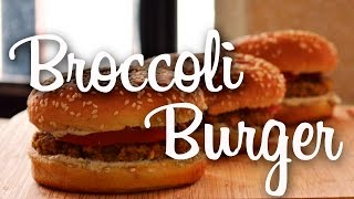 Broccoli Burger, Vegan