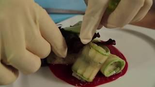 "Рецепты от Шеф-повара Клиники ""Кивач"": Рулетики из цуккини"