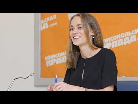 """Актриса сериала """"Крепостная""""  Екатерина Ковальчук (часть 1)"""