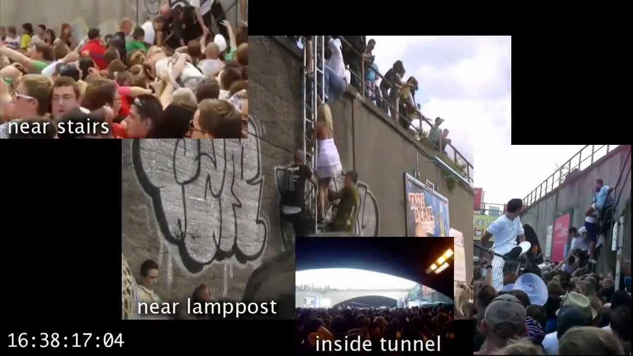 Do It Yourself Werkstatt Duisburg Love Parade Duisburg July 24 Multiperspective Video