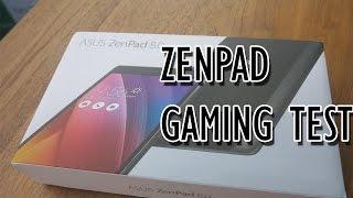 ASUS Zenpad 8 Z380KL Gaming Test