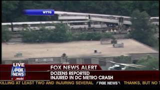 Subway crash in Washington D.C.