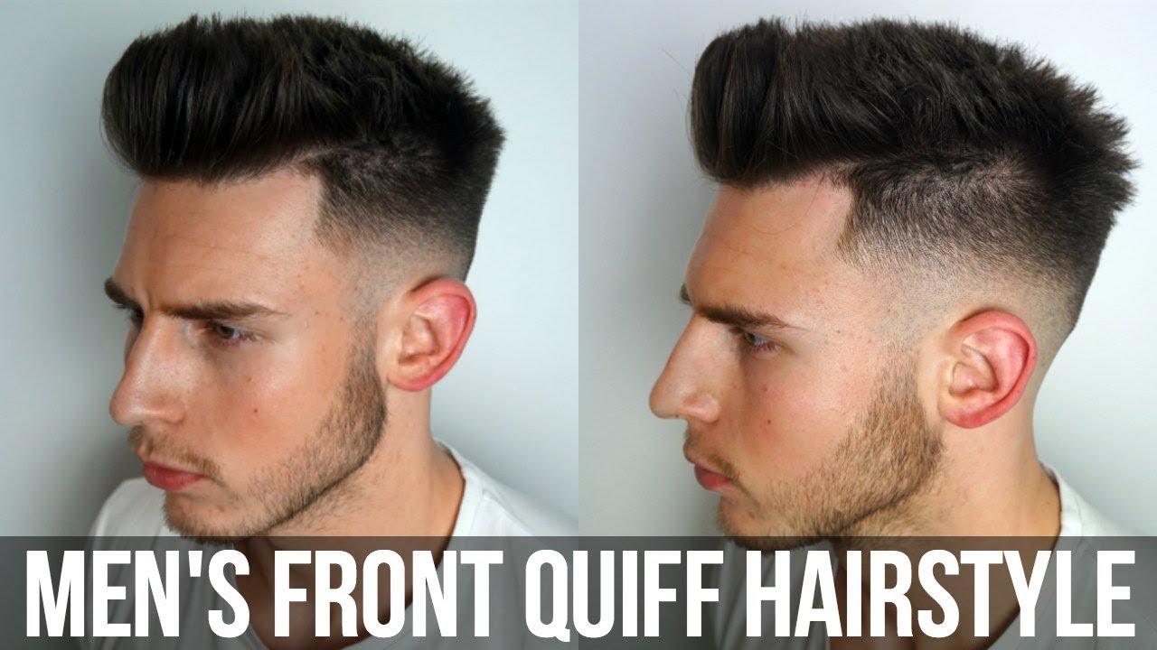 How I Style My Hair Men S Quiff 2017 Vlog 26 Youtube