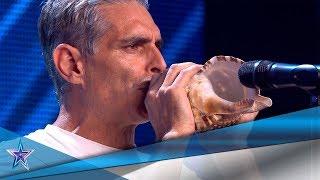 Su TRADICIÓN CANARIA provoca una PELEA con RISTO MEJIDE | Audiciones 10 | Got Talent España 5 (2019)