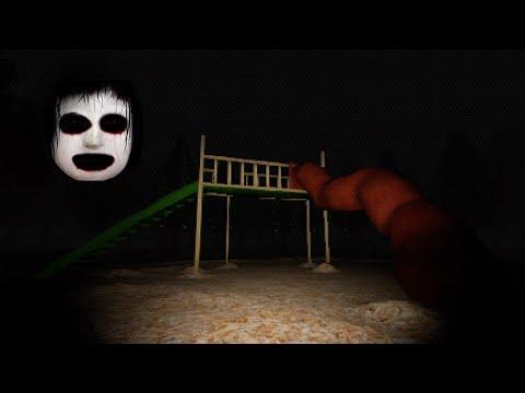 顔のすべり台「すべる毎に怖くなる」行方不明の公園が怖すぎたホラーゲーム(大絶叫あり)