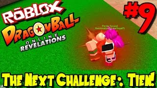 THE NEXT CHALLENGE: TIEN! | Roblox: Dragon Ball Online Revelations - Episode 9