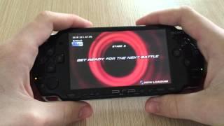 Tekken 6 PSP Gameplay