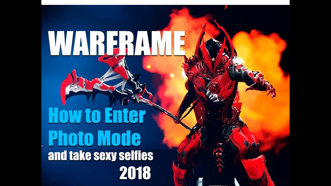 Warframe How To Enter Photo Mode And Takey Selfies