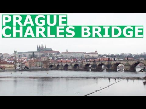 Sightseeing Prague - Lesser Town Bridge Tower and Charles Bridge