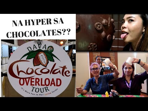 Davao Chocolate Overload Tour Launch/MALAGOS CHOCOLATE MUSEUM TOUR - thedorzfallac vlog