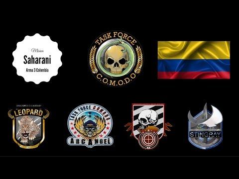 Arma 3 Colombia | Misión Saharani