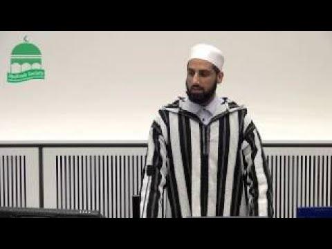 Shaykh Waseem Ahmad Preserving your Imaan at Uni