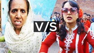 Funny Punjabi Comedy Fight Scene ● Upasana Singh ● Lokdhun ●  New Punjabi Movies 2016