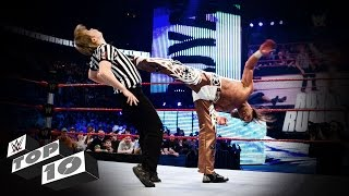 Referees Get Wrecked: WWE Top 10 thumbnail