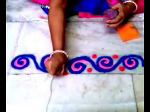 Download] Beautiful Rangoli Design 5 Border