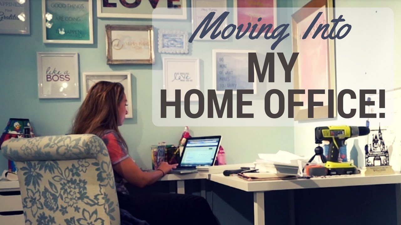 Merveilleux Working From Home   Moving Into My Home Office   Vlog