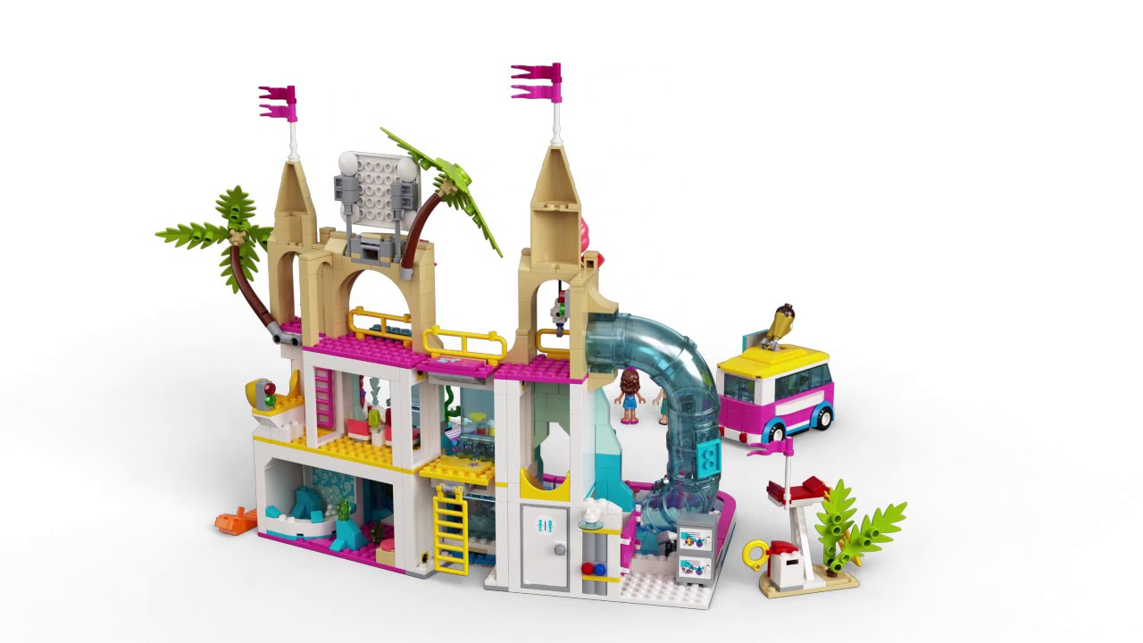 Lego city для мальчиков аквапарк купить квартиру в кобулети на берегу моря