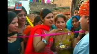 Jija Ribbon Kaat De [ Top Haryanvi Folk Song ] Fouji karambir Jaglan, Meenakshi