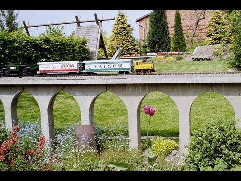 Wir bauen eine Gartenbahn für G-Scale LGB u. Piko Gartenbahn Trains Garden Railway