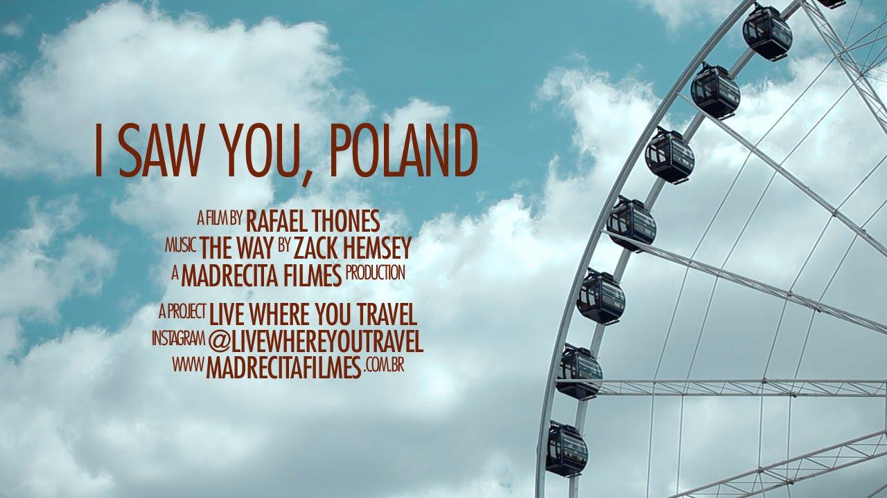 """""""Zobaczyłem Cię, Polsko!"""" Brazylijczycy nakręcili wideo o naszym kraju"""