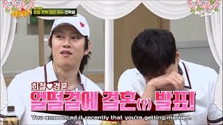 (some of) Kyunghoon and Heechul moments on Knowing Bros 2018