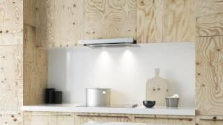 видео Телескопическая кухонная вытяжка