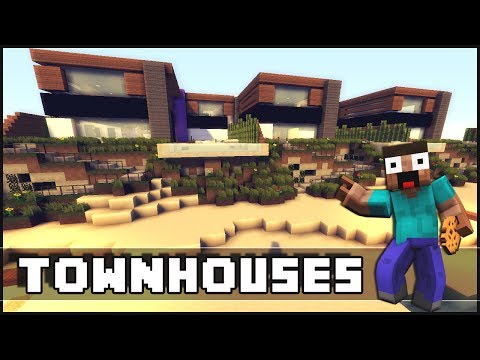 Minecraft - Modern Townhouses