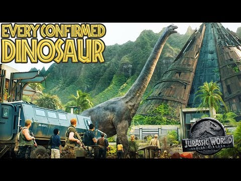 Download Youtube: Every CONFIRMED DINOSAUR In Jurassic World: Fallen Kingdom (Including MOSASAURUS)