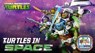 Teenage Mutant Ninja Turtles: Turtles In Space - Complete Space Missions (Gameplay)