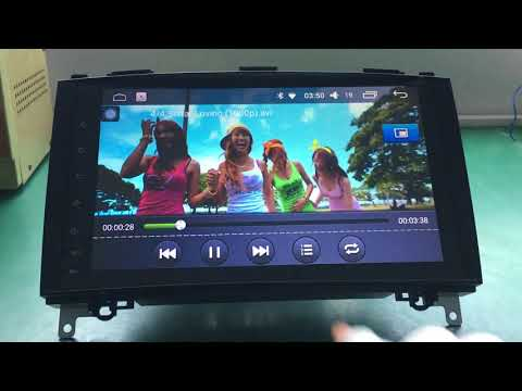HANG XIAN Android 6.0 car dvd player for Benz B200 car radio with 1G RAM 16G ROM