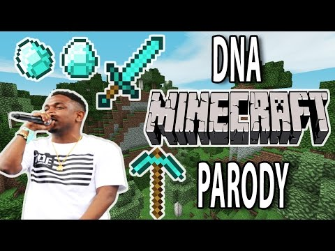 "KENDRICK LAMAR ""DNA"" MINECRAFT PARODY"