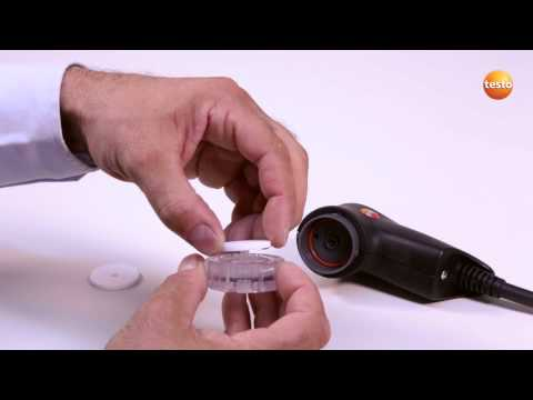 testo 340 - Step 10 - How to Change And Clean Modular Gas Sampling Probe
