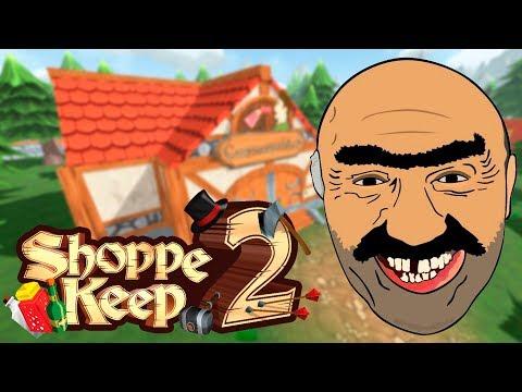 ЗАХАДЫ И ПАКУПАЙ! - Shoppe Keep 2 (обзор прохождение на русском) #1