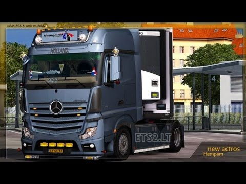 mercedes actros mp4 tuning mod holland style euro truck. Black Bedroom Furniture Sets. Home Design Ideas