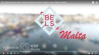 BELS Malta School Video | English language schools in Malta | Learn English in Malta