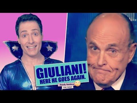 Randy Rainbow's 'Mamma Mia' Parody Of Rudy Giuliani Is A Showstopper