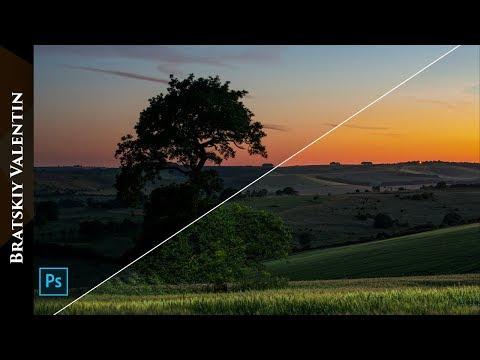 Фотошоп и подсветка с летающего дрона