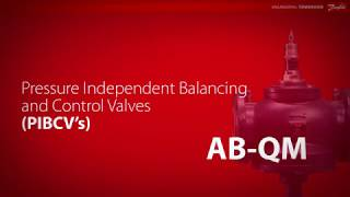 Pressure Independent Balancing and Control Valves (PIBCV's) – AB-QM