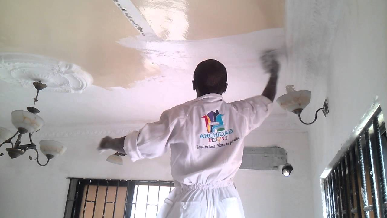Wall Screeding Pop Ceiling Installation Youtube