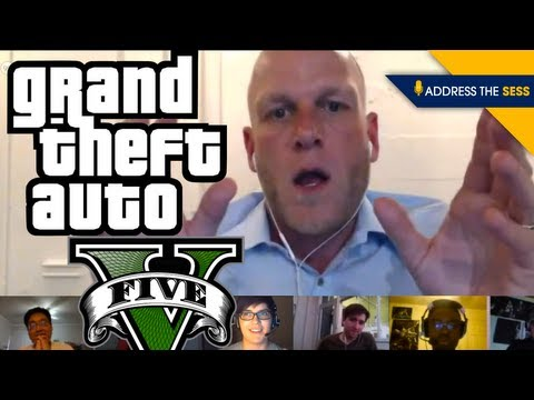 Address the Sess: GTA V Edition! Misogyny, Satire, Storytell