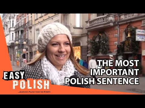 Easy Polish 1 - The most important Polish sentence