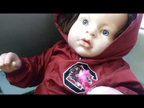 Travel vlog   Traveling home   flying with a reborn todler