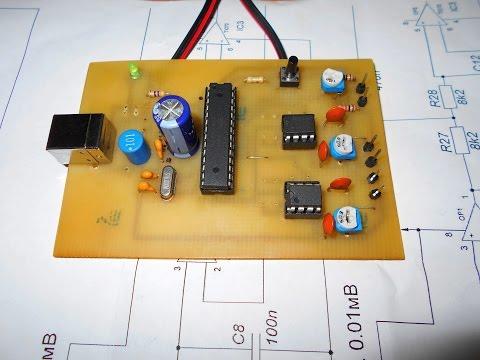 USB АЦП на ATmega8(Arduino)