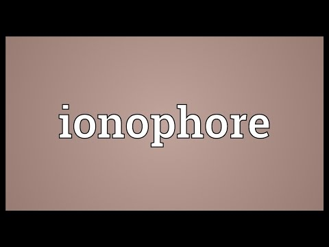 Ionophore Meaning