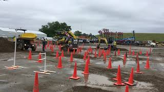 Video still for Franklin Equipment Skid Steer Rodeo in Indianapolis