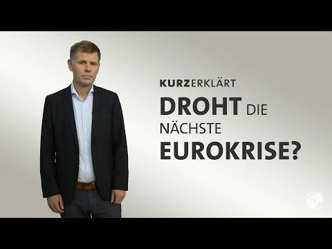 #kurzerklärt: Droht die nächste Eurokrise?