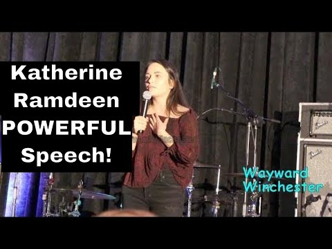 Katherine Ramdeen SHINES As she POWERFULLY Reveals Her Vegan Story SPNORL 2018
