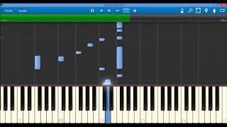 Red - Already Over (Synthesia Tutorial)